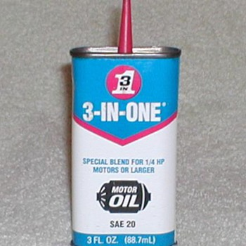 3-IN-ONE Oil Tin - Petroliana