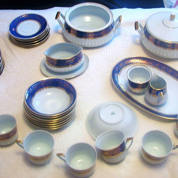 Bavaria China Set By Rieber