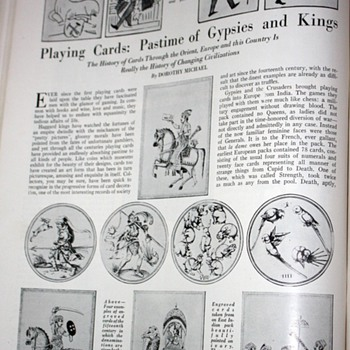 Articles in November, 1928 magazine - Arts & Decoration - Paper