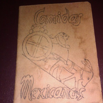 Comidas Mexicanas  Los Angeles Pasadena Settlement House 1945 Cook Book