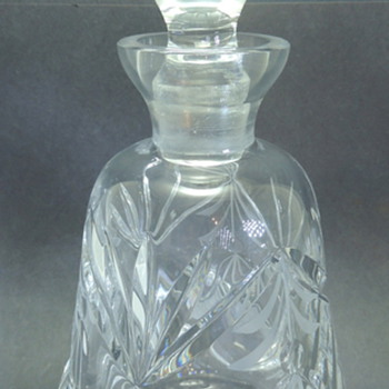 Cut Glass or Crystal Decanter - Bottles