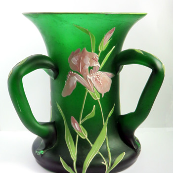 Goldberg Three-handled Iris Vase