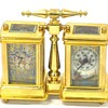 my ormolu sevres style side by side carriage clock/barometer