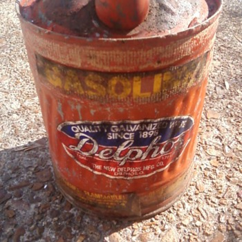 OLD GAS CAN - Petroliana