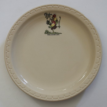 Chicken In The Rough Plate..... - China and Dinnerware