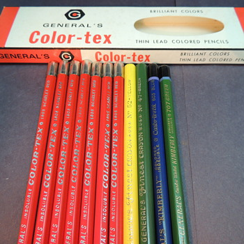 Anyone Know About Vintage Pencils??? Thanks! - Office