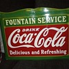 "18"" x 24"" Coca Cola Fountain Service Sign"