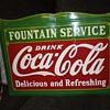 """18"""" x 24"""" Coca Cola Fountain Service Sign"""