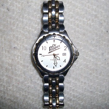 Dr. Pepper Wrist Watch