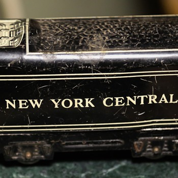 Toy Tin Train Car - New York Central