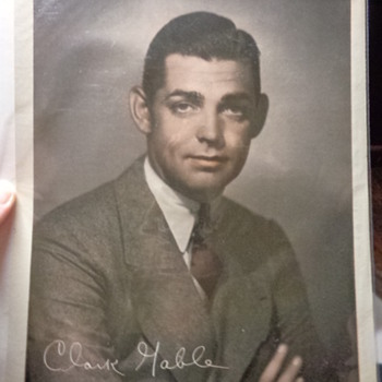 MGM Clark Gable studio photo