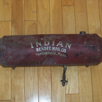 Original Indian Motorcycle Gas Tank
