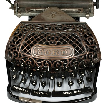 Ford typewriter - 1895