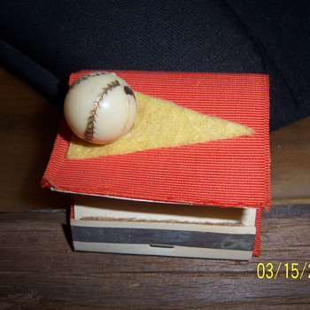Vintage Matchbook - Baseball