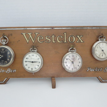 Westclox Store Counter Display