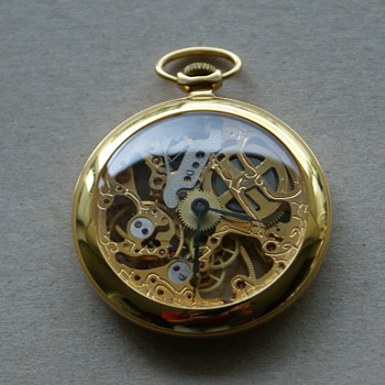 Pocket Watch - See through mechanism