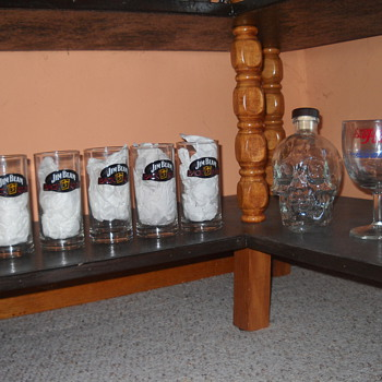Jim Beam bar glasses