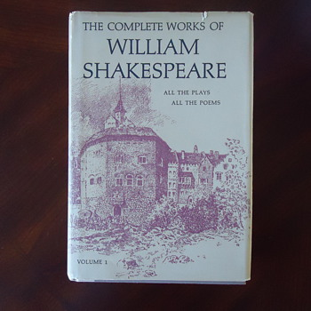 A BOOK OF WILLIAM SHAKESPEARE
