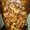 Large Cherub  Vase