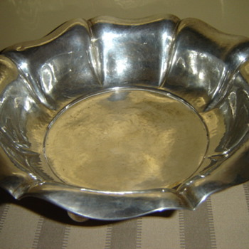 "800 silver ""fruit bowl"" - Sterling Silver"