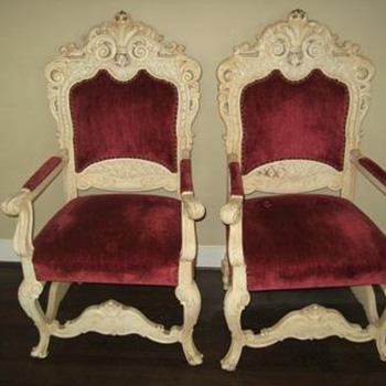 French Louis IVX chairs - Furniture