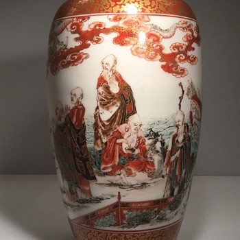 My favorite Kutani vase. - Asian