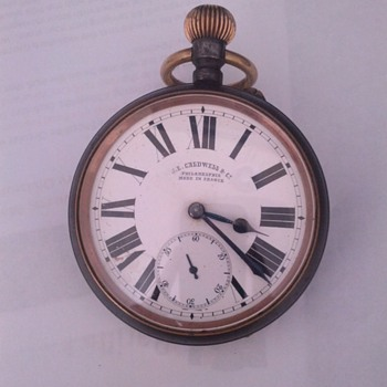 Railroad Pocket Watch - Pocket Watches