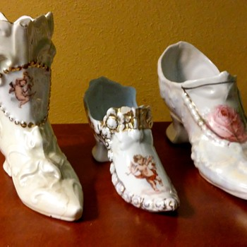 Esther's miniature shoe collection