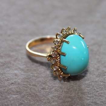 Turquoise Rings - Fine Jewelry