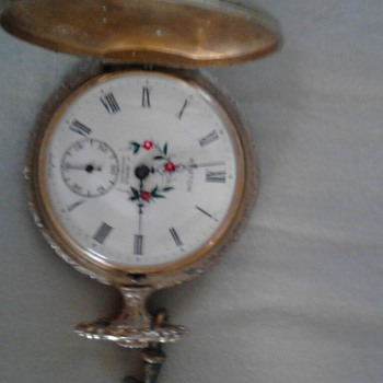RUXTON CASE POCKET WATCH