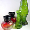 Rindskopf 'Molded Veining' Vase Examples