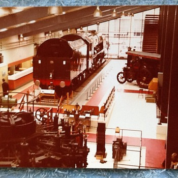1980-old Birmingham-science museum-steam trains. - Photographs