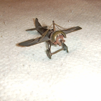 WW1 trench art plane