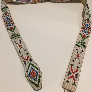 Loom Beaded Native American Belt