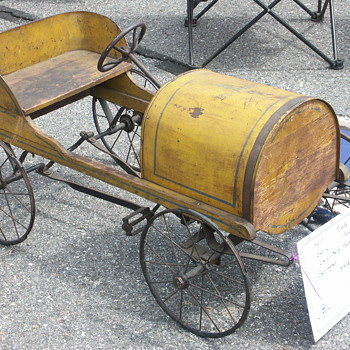 &quot;Empire&quot; Pedal Car Appears in 1916-17 Toldeo Metal Wheel Co. Catalog - Model Cars
