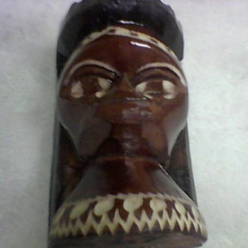 JAMAICAN WOOD CARVING