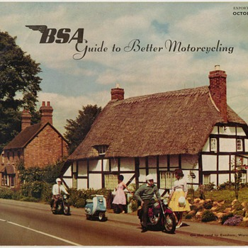 1961 B.S.A. Motorcycles Export edition brochure