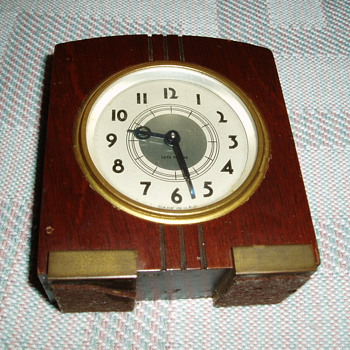 seth thomas baby bens type clock - Clocks