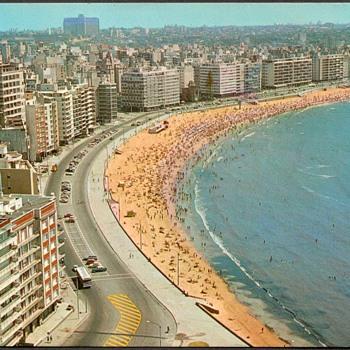 1987 - Brazil & Uruguay Postcards - Postcards
