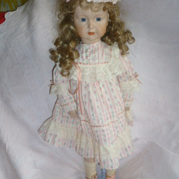 Porcelain doll jewish girl - Dolls