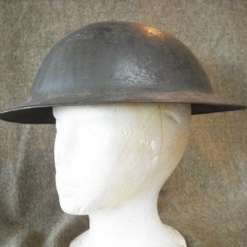"British Mark I ""Brodie"" Helmet"