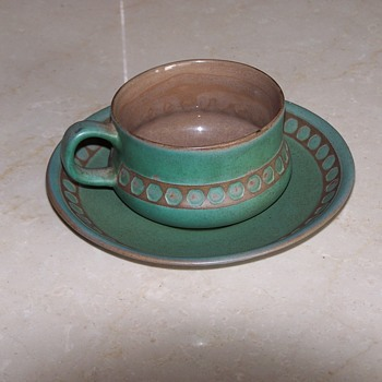 My favorite cup and saucer! - Art Pottery