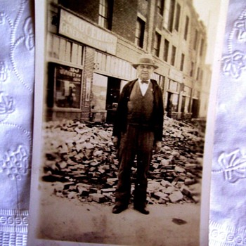 Grandpa In An Earthquake? (See First Photo!)  WHAT DO YOU THINK?