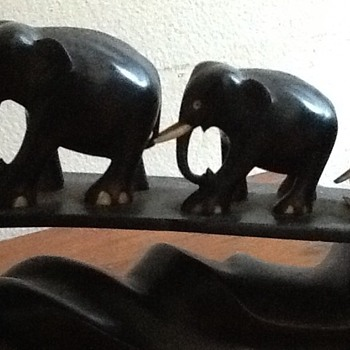 Granddad's South African Elephants