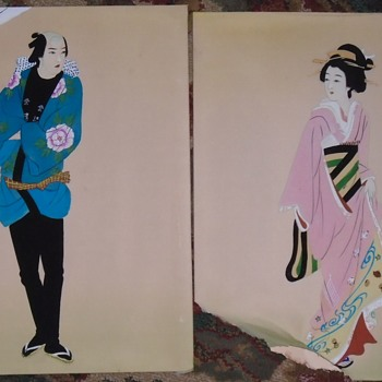 Two more Asian pieces... Art - Visual Art