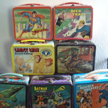 Part of my Lunchbox Collection