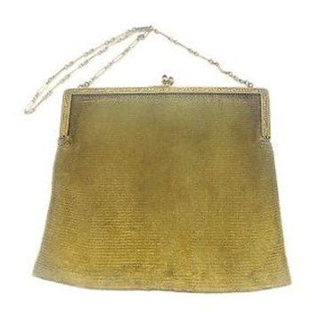 Gold Flappers Purse - Bags