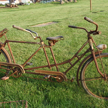 Colson Flyer tandem rear steer bicycle