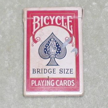 Bicycle Playing Cards - Bridge - Cards