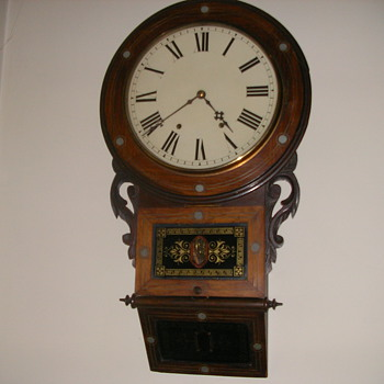 Chiming 8 Day Wall Clock